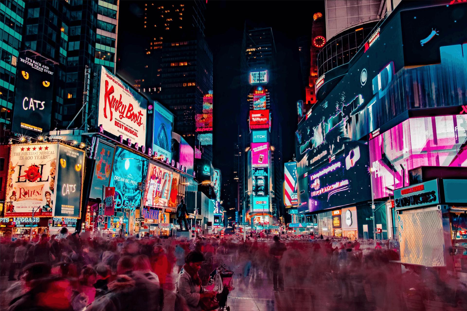 New York Lichter
