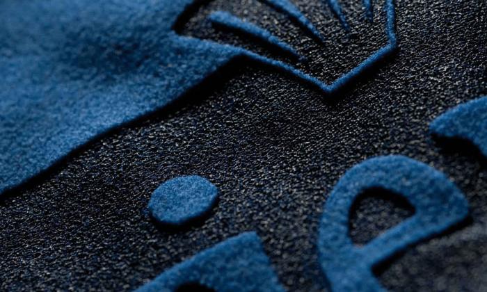 Flockfolie-Textil